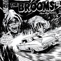 BROOMS -HERE THEY COME! (Portuguese fuzz garage)  LP