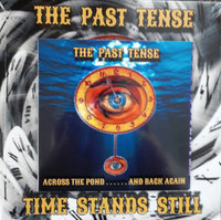 PAST TENSE  -TIME STANDS STILL (+CD) PURPLE (authentic '60s mod/garage/psych)  45 RPM