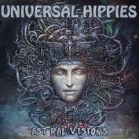 UNIVERSAL HIPPIES   -ASTRAL VISIONS(heavy guitar Greek power trio)  CD