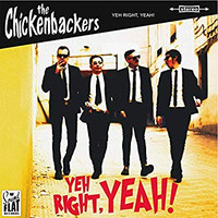 CHICKENBACKERS   -YEH, RIGHT, YEAH! (60s Merseybeat sound)  LP