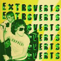 EXTROVERTS - SUPPLE  (80s true punk-power pop gem)  LP