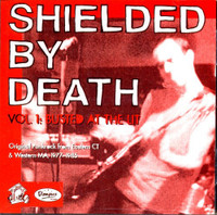 SHIELDED BY DEATH  -Vol#1 Busted At The Lit ( 60s inspired garage / old school punkrock )COMP CD