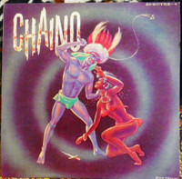 CHAINO   - Eye of the Spectre (50s  African percussion genius ) LP