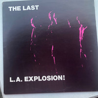 LAST - LA EXPLOSION  - Rare German pressing- ONE ONLY!   LP