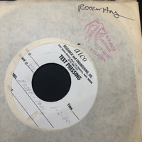 ROCKIN'HORSE   - Biggest Gossip In Town / Oh Carol I'm So Sad  (BOMP 1001) ORIGINAL 1982  TEST PRESSING ONE ONLY   45 RPM