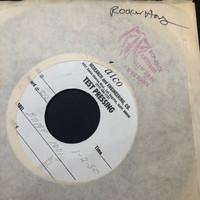 ROCKIN'HORSE   - Biggest Gossip In Town / Oh Carol I'm So Sad  (BOMP 1001) ORIGINAL 1982  TEST PRESSING ONE ONLY   45 RPM