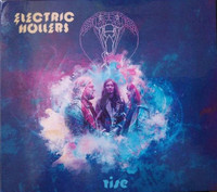 ELECTRIC HOLLERS - RISE(Psych blues rock from Holland)CD