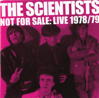 SCIENTISTS   - NOT FOR SALE: LIVE 1978/'79-  CD