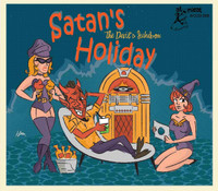 SATAN'S HOLIDAY  -VA(Scary vintage rockabilly and rock and zombies and vampires!) COMP CD