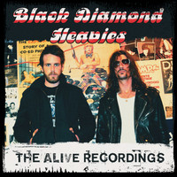 BLACK DIAMOND HEAVIES -  BOX SET!  ALL 3  ALIVE LPS ON COLOR VINYL W. FREE  BONUS LP