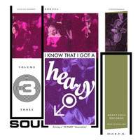 I KNOW THAT I GOT A HEAVY SOUL, VOL. 3  -VA(Eclectic mix of soul, beat, psyche, pop moderniste and funk)  SALE! COMP LP