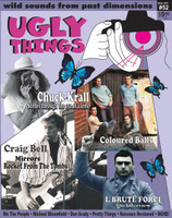 UGLY THINGS  - #52 - CHUCK KRALL-  BOOKS & MAGS