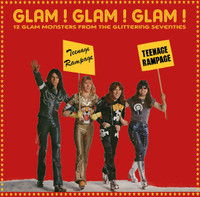 GLAM!GLAM!GLAM! -12 Glam Monsters From the Glittering Seventies- COMP LP