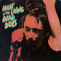 DEAD BOYS  -NIGHT OF THE LIVING- ORIGINAL  ORANGE COVER -  LP