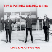 MINDBENDERS   -LIVE ON AIR 1966-'68 -RED VINYL 180 GRAM-  LP