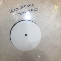 SURF TRIO-ALMOST SUMMER   -TEST PRESSING 1986  W GREG SHAW's writing on cover. LP
