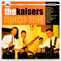 KAISERS - Shake Me  (Scottish 60s garage BEATLES/ZOMBIES  style)  CD