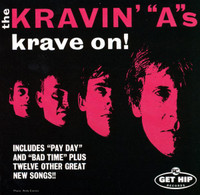 KRAVIN A  - KRave On  (60s style Beatle-esque pop) CD