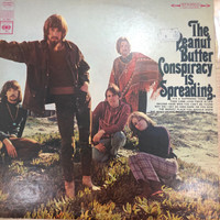 PEANUT BUTTER CONSPIRACY - IS SPREADING   - STEREO  1967 PRESSING-  LP