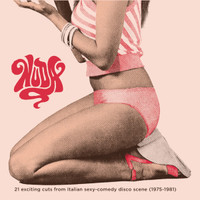 NUDA  -21 EXCITING CUTS FROM ITALIAN SEXY-COMEDY DISCO SCENE (1975-1981)-  COMP CD