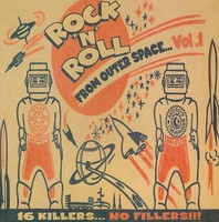 ROCK AND ROLL FROM OUTER SPACE 1  -VA-  COMP LP