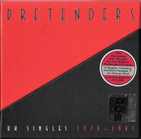 "PRETENDERS   -UK SINGLES 1979-1981- 7"" BOX  with 8  45 RPM"