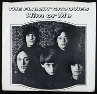 FLAMIN GROOVIES- You Tore Me Down /HIM or Me  BOMP SLV  -45 RPM