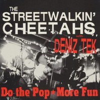 STREET WALKIN CHEETAHS with DENIK TEK   - DO the Pop/ MORE FUN  -heavy cardboard slv- 45 RPM