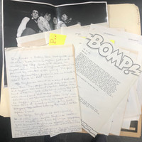 BOYFRIENDS   - ORIGINAL BOMP FILES and PRESS KIT 1978!!
