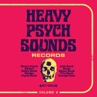 HEAVY PSYCH SOUNDS SAMPLER  Vol V  -COMP CD