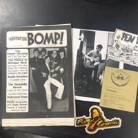 FLAMIN GROOVIES- ORIGINAL BOMP 70s PRESS KIT- 40 VINTAGE ITEMS!