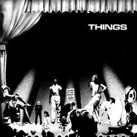THINGS   -ST - 1988 ORIG PRESSING of L.A. psych band  -LP
