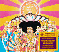 HENDRIX,  JIMMY  Axis- BOLD AS LOVE -GATEFOLD CD & BONUS DVD