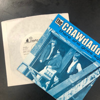 CRAWDADDYS, THE   - ORIG. 1980 TEST PRESSING WITH COVER!  There She Goes AGain   45 RPM