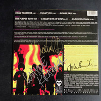 "MC5  - Powertrip 10""  AUTOGRAPHED BY JOHN SINCLAIR, WAYNE KRAMER, AND MICHAEL DAVIS!!  LP"