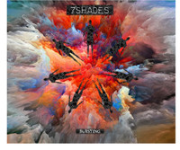 7 SHADES-BURSTING  (prog/punk/pop/psych pranksters)  CD
