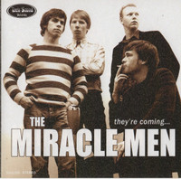 MIRACLE MEN   - They're Coming (cool r'n' roll garage )CD