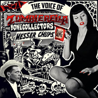 MESSER CHUPS   -THE VOICE OF ZOMBIERELLA(surf/rockabilly)  LP