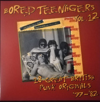 BORED TEENAGERS   - Vol 12 (Long lost rock gems)   COMP LP