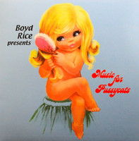 MUSIC FOR PUSSYCATS  Boyd Rice Presents (collection of obscure girl group pop) PINK  VINYL COMP LP