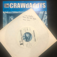 CRAWDADDYs   -There She Goes Again- 1992  TEST PRESSING WITH GREG SHAW's HANDWRITING and VOXX SLV-    45 RPM