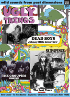 UGLY THINGS  - 53 -DEAD BOYS  -BOOKS & MAGS