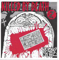 KILLED BY DEATH Vol 2  -Raw Rare Punk Rock 77-82-  COMP CD
