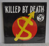 KILLED BY DEATH Vol 5  Raw Rare Punk Rock 77-82-  COMP CD