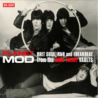 PLANET MOD   - From the Shel Talmy Vaults- RED VINYL GATEFOLD DBL LP-  COMP LP