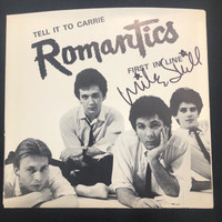 ROMANTICS  - Tell it to Carrie- AUTOGRAPHED BY MIKE SKILL!  ORIG PRESS 1978 BOMP 120  -45 RPM
