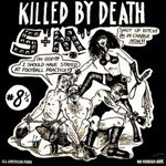 KILLED BY DEATH Vol 8 /12  Raw Rare Punk Rock 77-82-  COMP CD