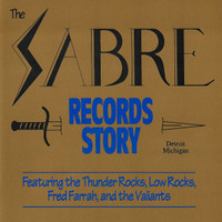 SABRE RECORDS STORY   (FOR PEBBLES/ BACK FROM THE GRAVE FANS )  COMP CD