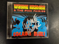 KRAMER, WAYNE / MC5 /PINK FAIRIES   - AUTOGRAPHED! Cocaine Blues  Live at Dingwalls 1979  LAST COPIES! -  CD