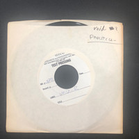 DADISTICS- 1979 TEST PRESSING! (VOID 2) Paranoia Perception(70s power pop w girl singer , Greg Shaw's writing on label!)  45 RPM
